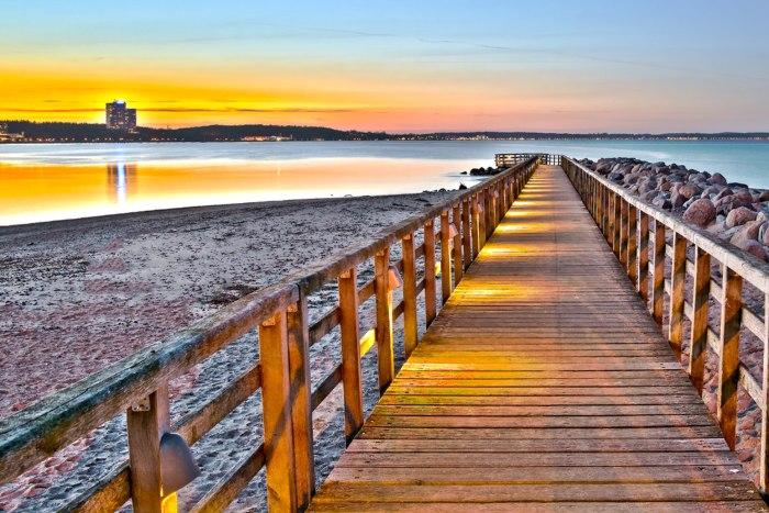 Gyöngyszem a Balti-tenger partján –  Németország, Timmendorfer Strand